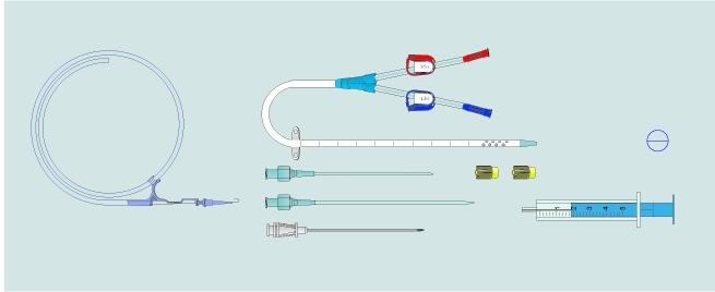 dialysis catheter change cpt code